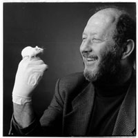 Dr Irving Weissman, MD, Stem Cell Therapy Pioneer 2002 California Scientist of the Year. Photo California Science Center